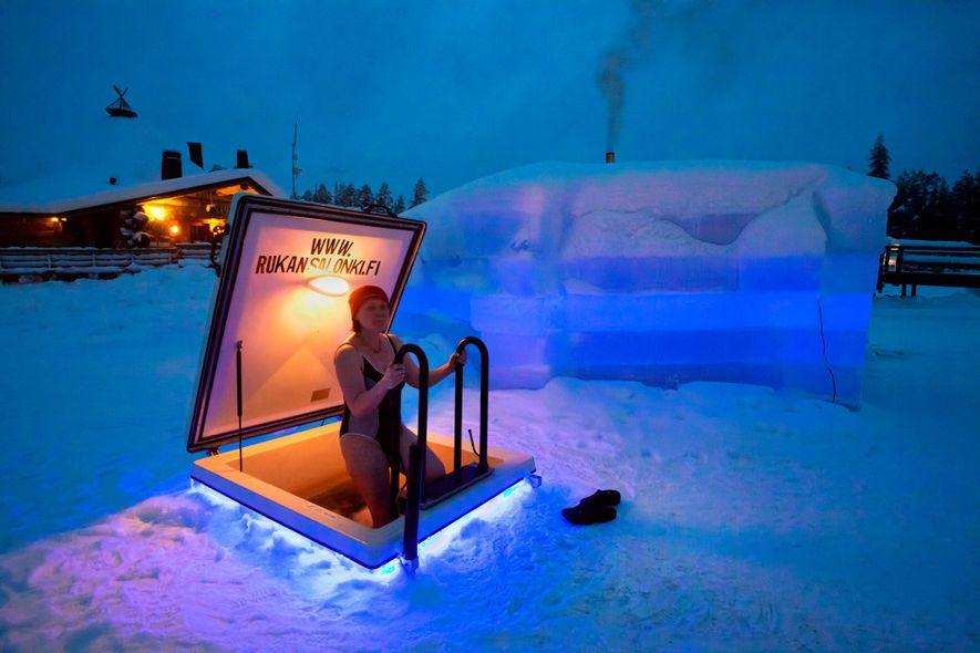 En Finlandia, las saunas son sinónimo de relajación.