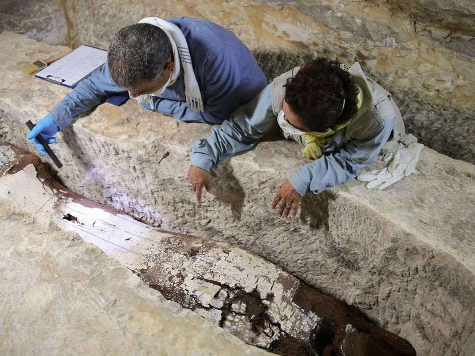 Este antiguo taller de momificación en Egipto ofrecía también servicios funerarios