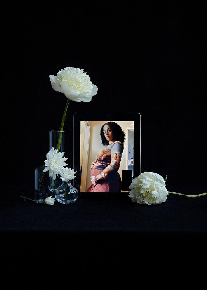 Christiana Neazer perdió a su marido, Michael Neazer, a causa del COVID-19 el 15 de julio ...