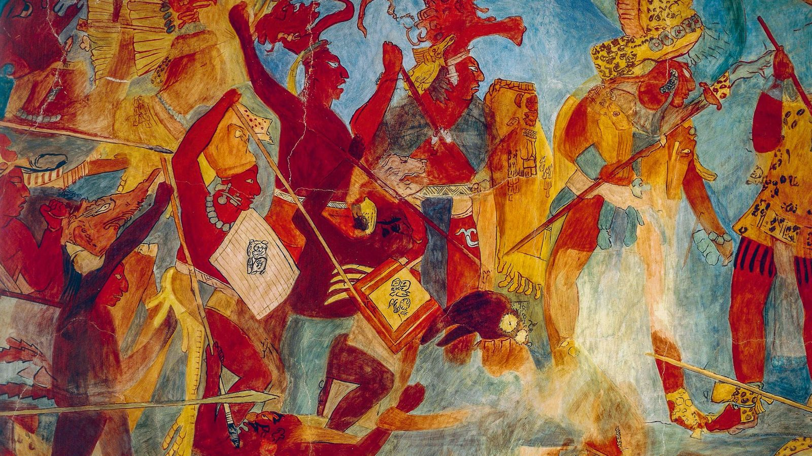 """Hasta hoy, se creía que los mayas habían arrancado la """"guerra total"""" (racha de violencia devastadora ..."""