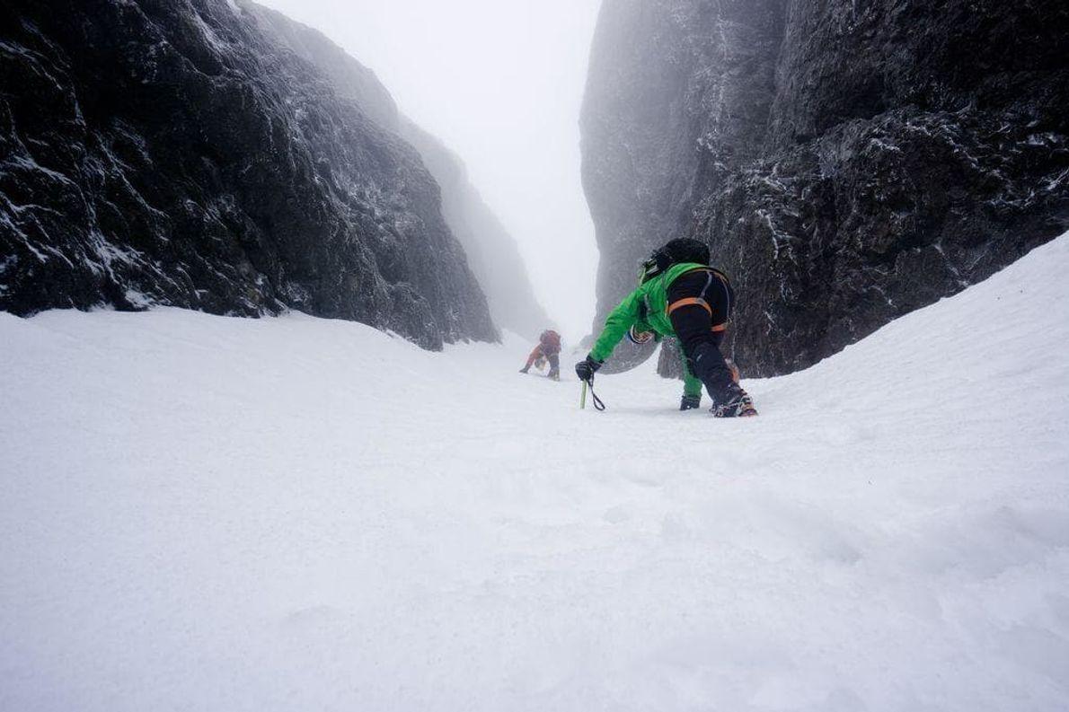 Sacamos esta foto en camino a la cima del monte Arrowsmith en la isla de Vancouver, ...