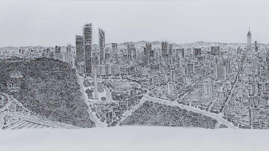 Conoce a un artista que dibuja una ciudad completa de memoria