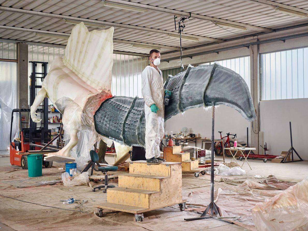 Con nuevos huesos llegan nuevos modelos: Guzun Ion de DI.MA. Dino Makers, una empresa que fabrica ...