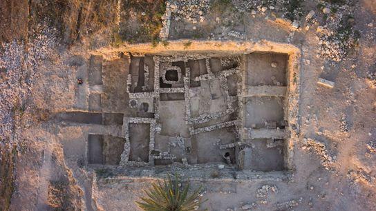 Tel Megiddo fue una importante estado de la ciudad cananea durante la Edad de Bronce, aproximadamente entre ...