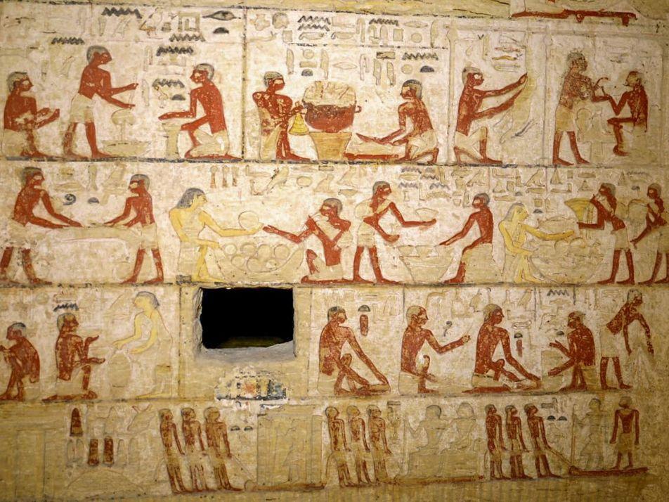 La tumba de Saqqara