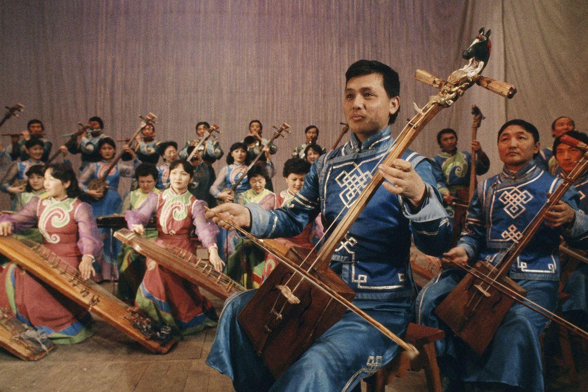 Música de Mongolia
