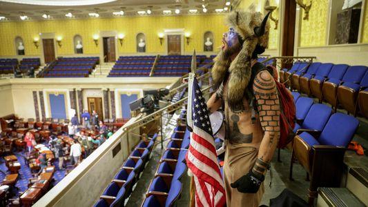 Impactantes imágenes del asalto al Capitolio de los Estados Unidos