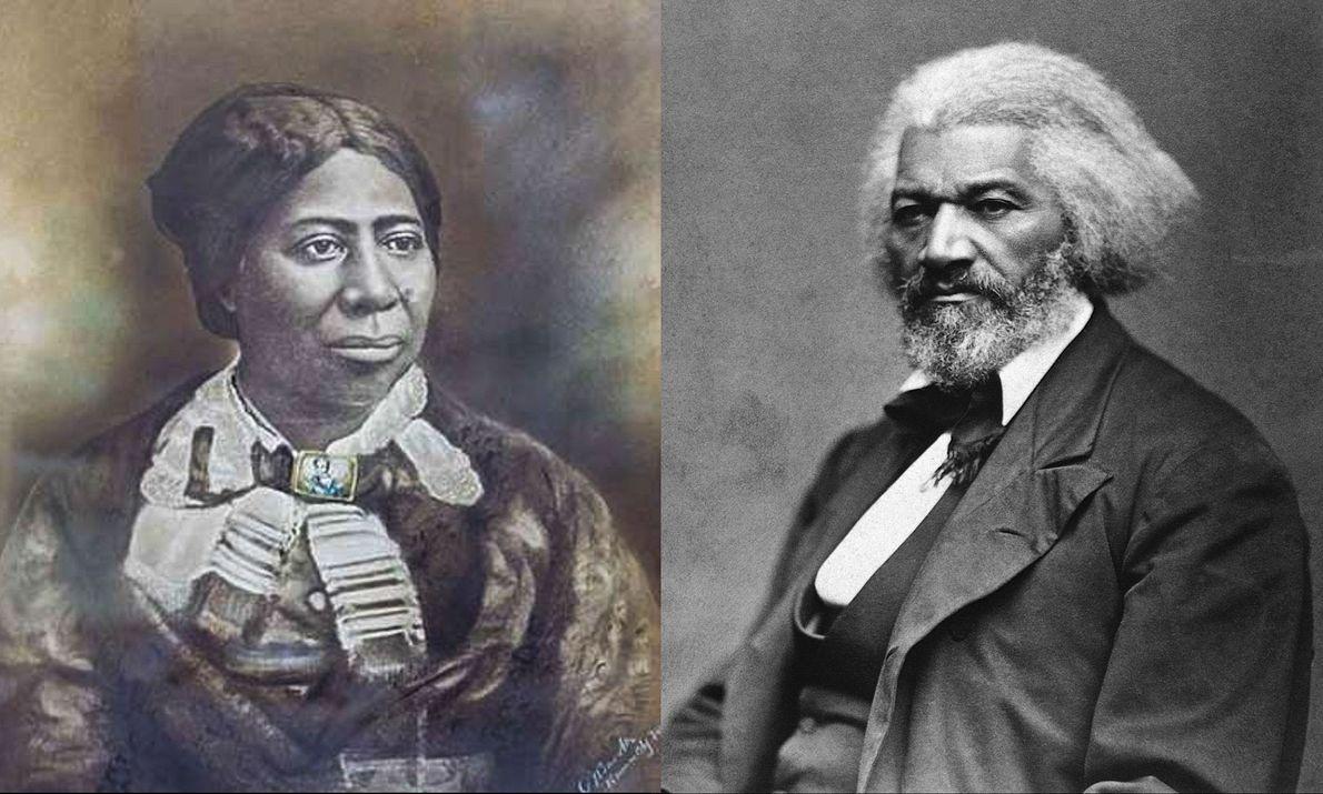 Anna Murray y Frederick Douglass