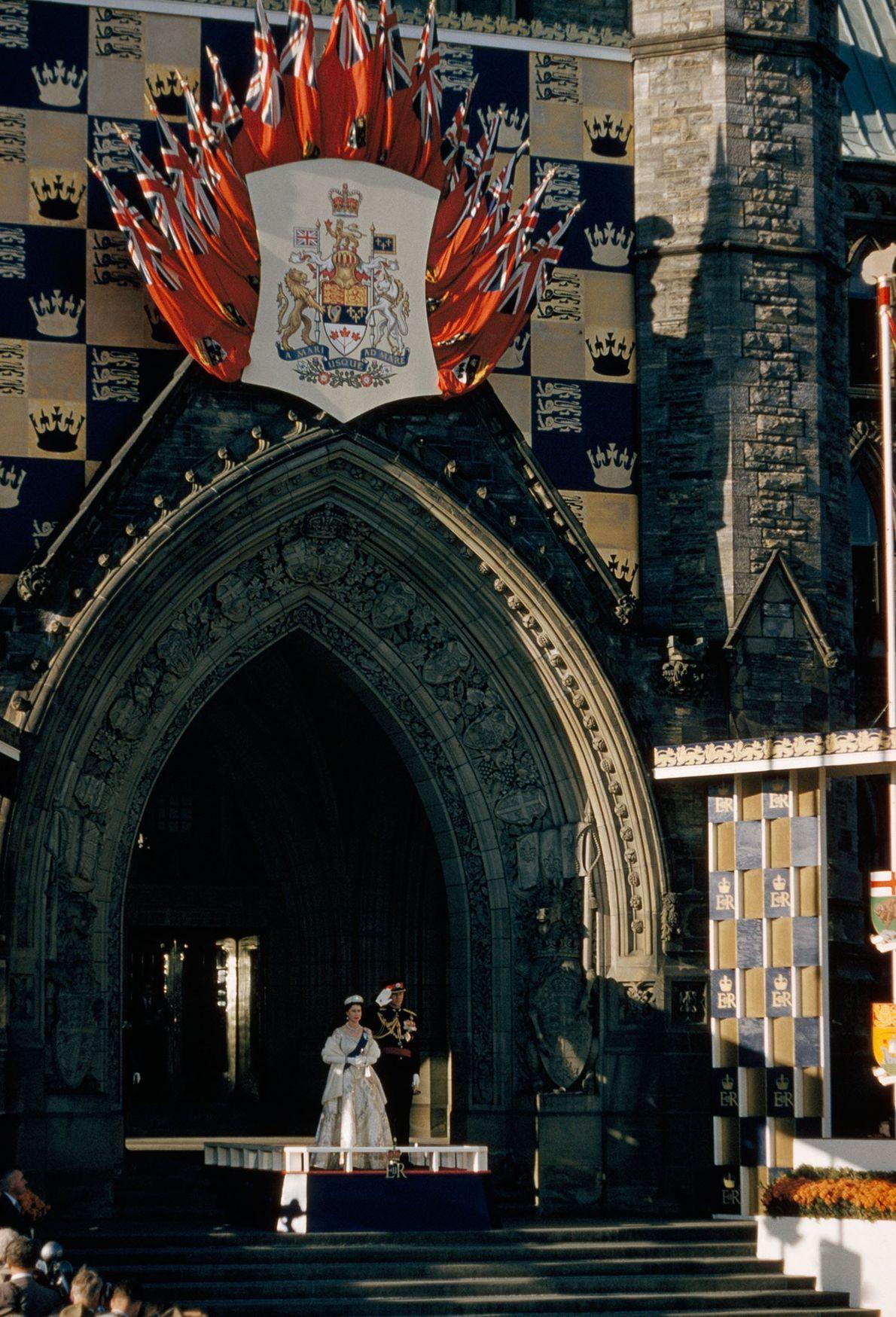 La reina tiene un cariño especial por Canadá, que, a diferencia de Australia, no ha demostrado ...