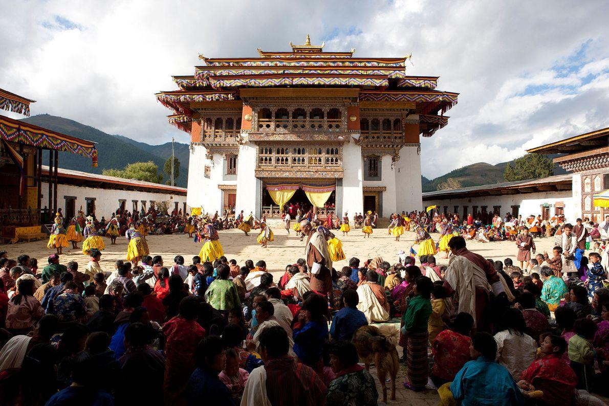 Monasterio de Gangtey, Bután