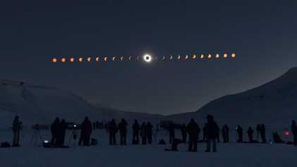¿Cómo fotografiar un eclipse solar?