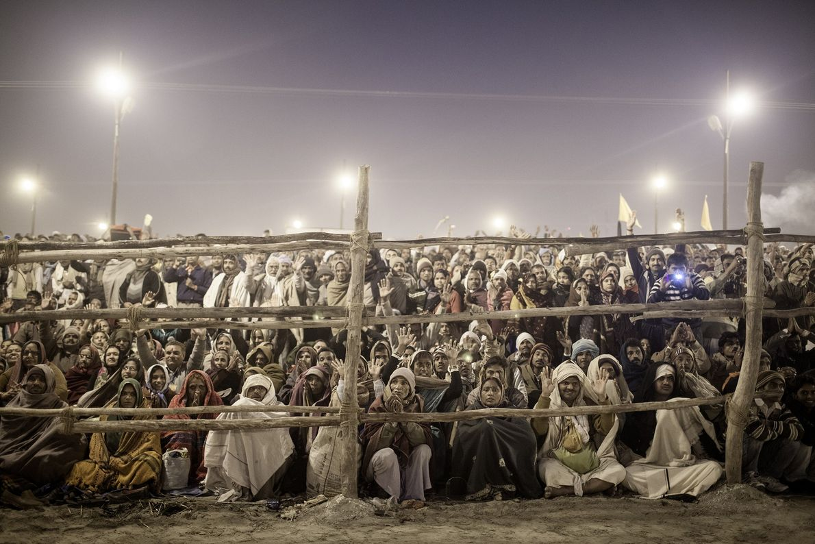 Kumbh Mela, el encuentro religioso más grande del planeta, se lleva a cabo cada 12 años ...