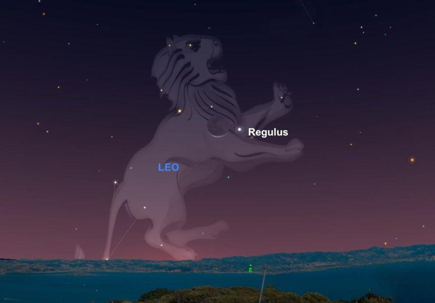 En 1940, la estrella Regulus, el corazón de la constelación Leo, expulsó fotones de luz. Ahora, ...