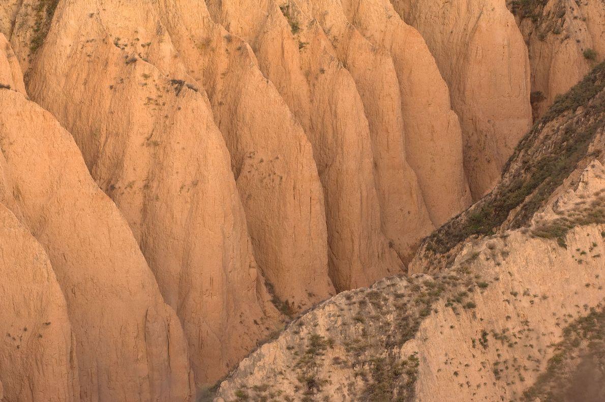 La meseta de Loess en China es el hogar de la peor erosión de la Tierra, ...