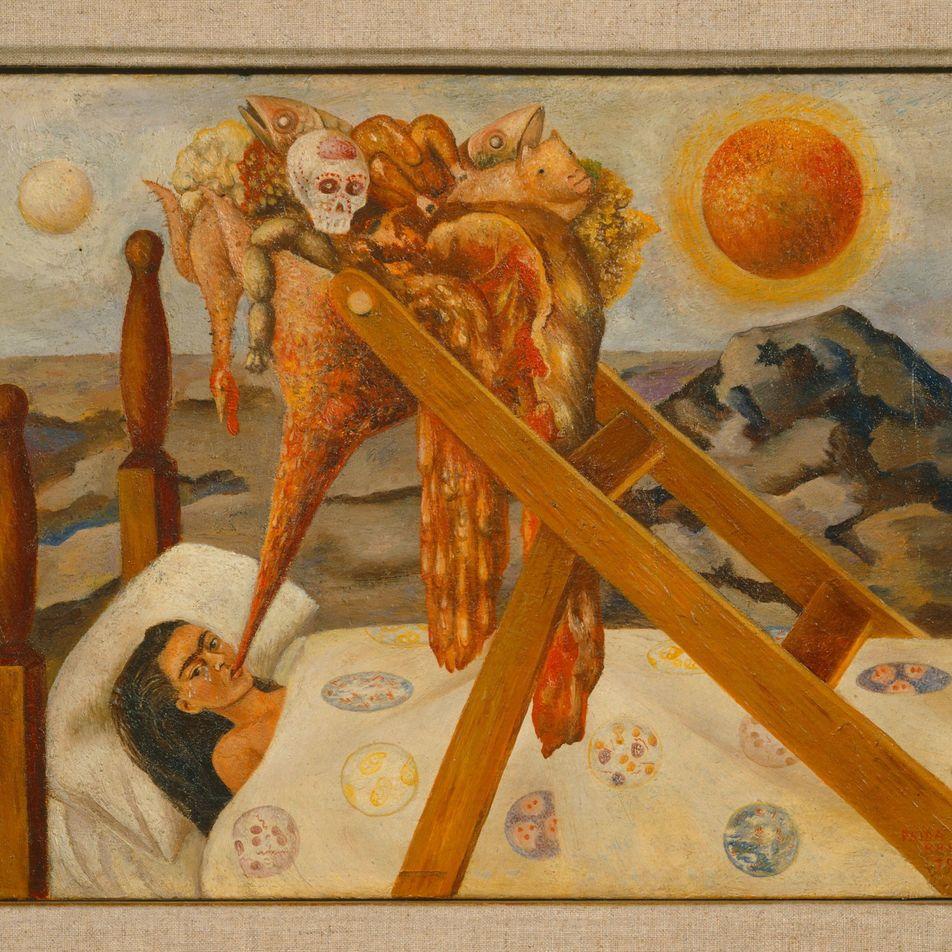 Frida Kahlo: una vida desplegada en obras