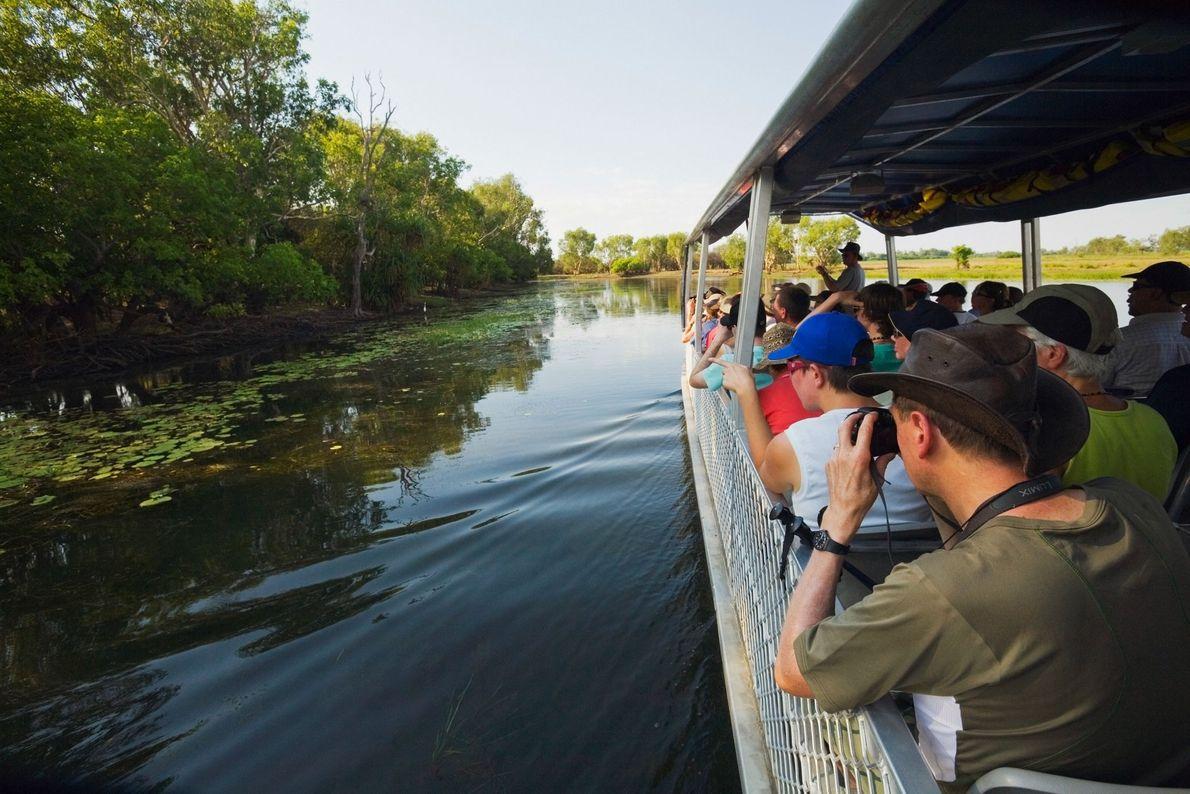 Un crucero por los pantanos de Yellow Water lo impregnará de la inigualable vida silvestre de ...