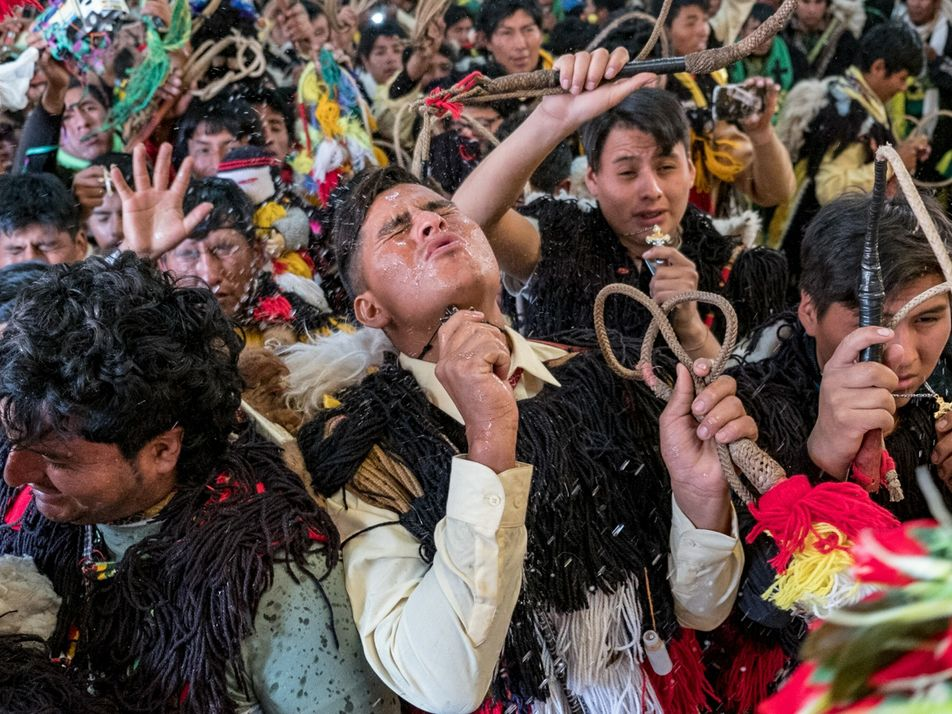 Qoyllur Rit'i: una tradición andina ancestral que se ve afectada por el derretimiento de los glaciares ...