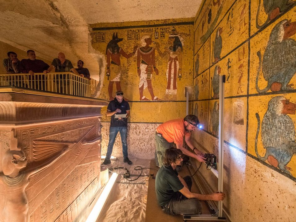 Es oficial: confirman que la tumba de Tutankamón no alberga cámaras secretas
