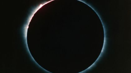 Efectos producidos por un eclipse solar total