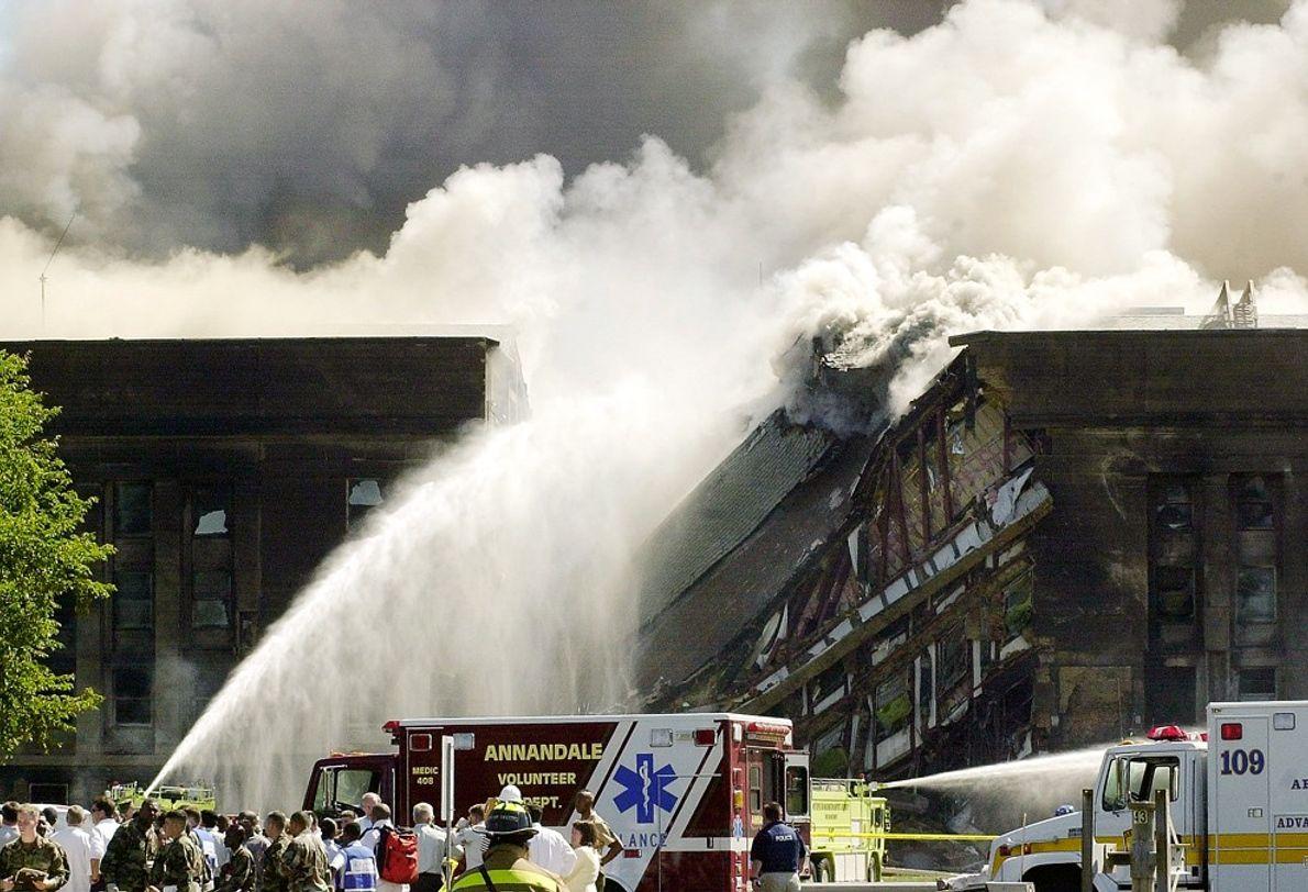 Pentagon Fire