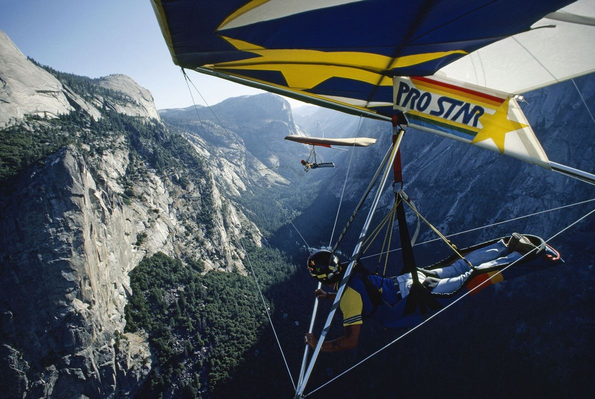Ala delta en Yosemite