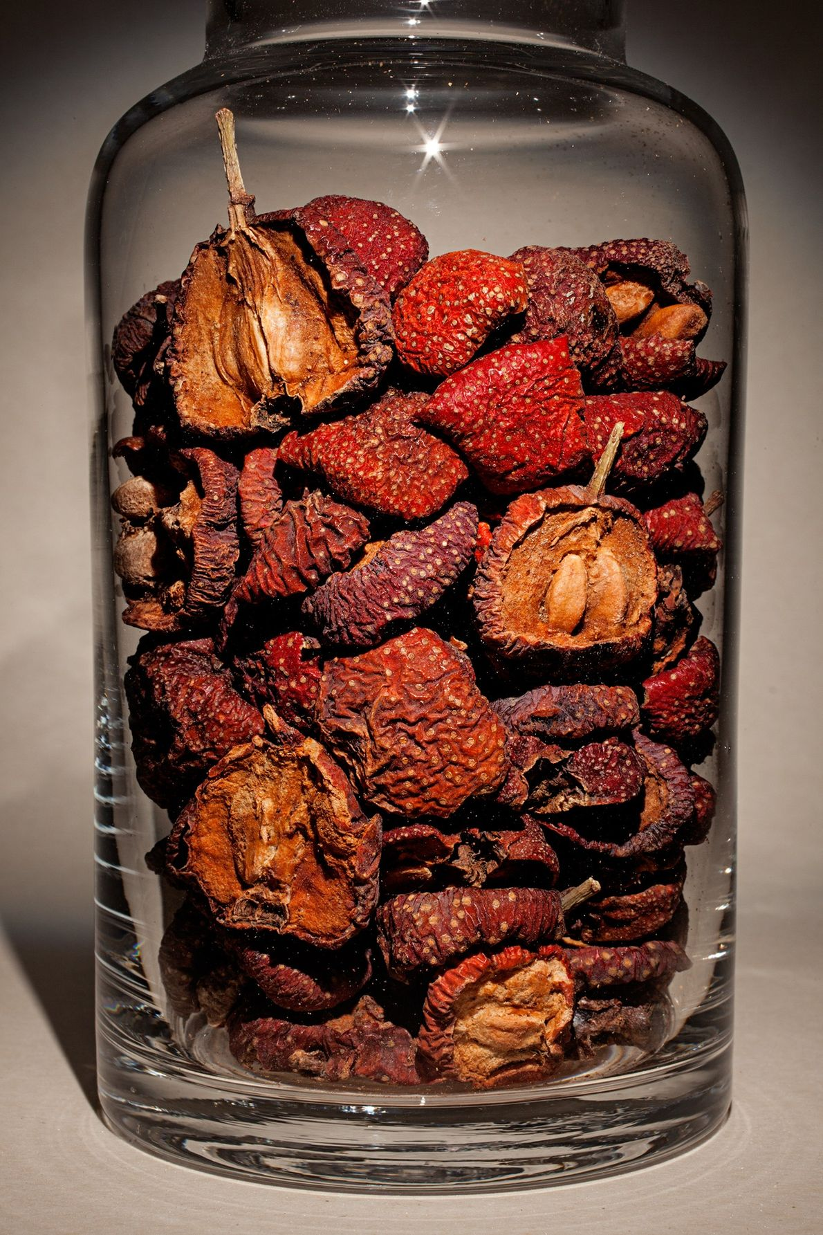 "Nombre común: fruto de espino Latín: ""Crataegus pinnatifida"" Chino: Shan zha Algunos usos: ayuda a digerir alimentos grasos."