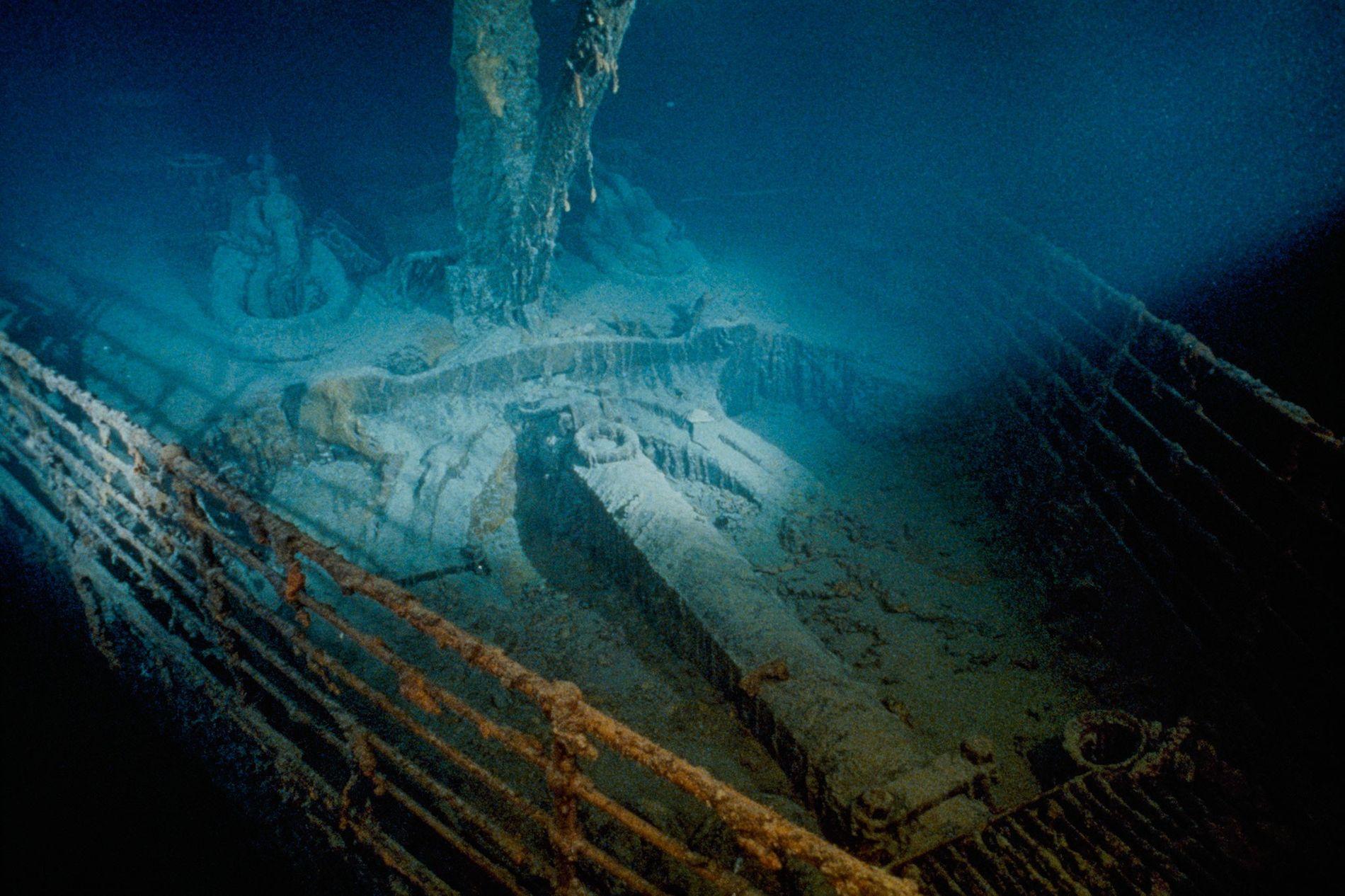 Титаник картинки с дна океана