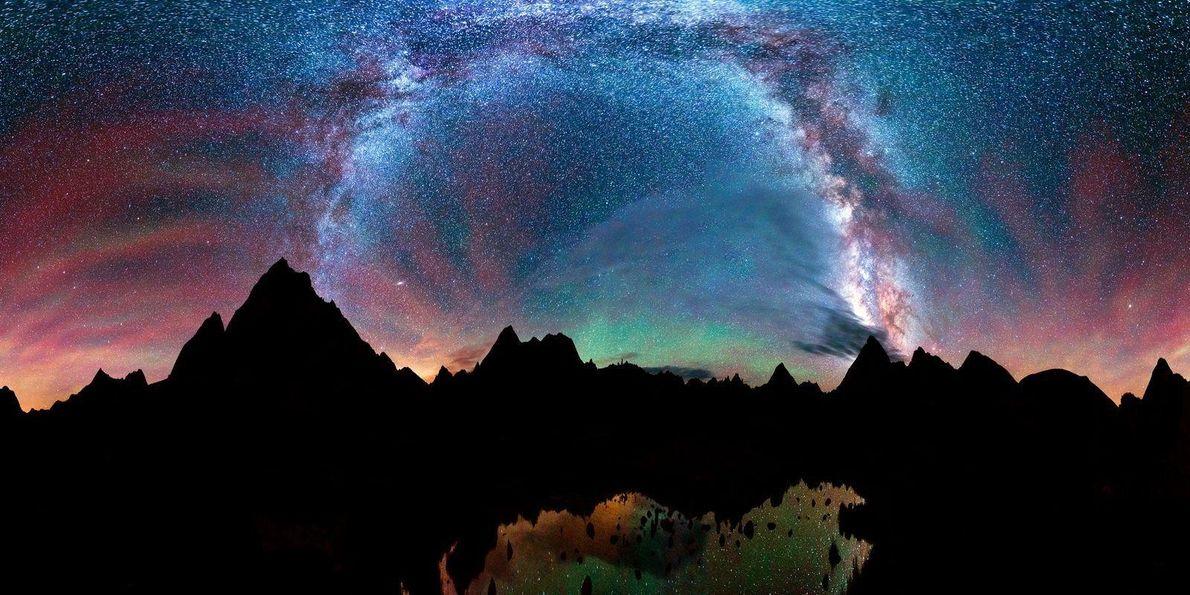 Bajo los cielos oscuros de los remotos espacios naturales de Colorado saco algunas de las mejores ...