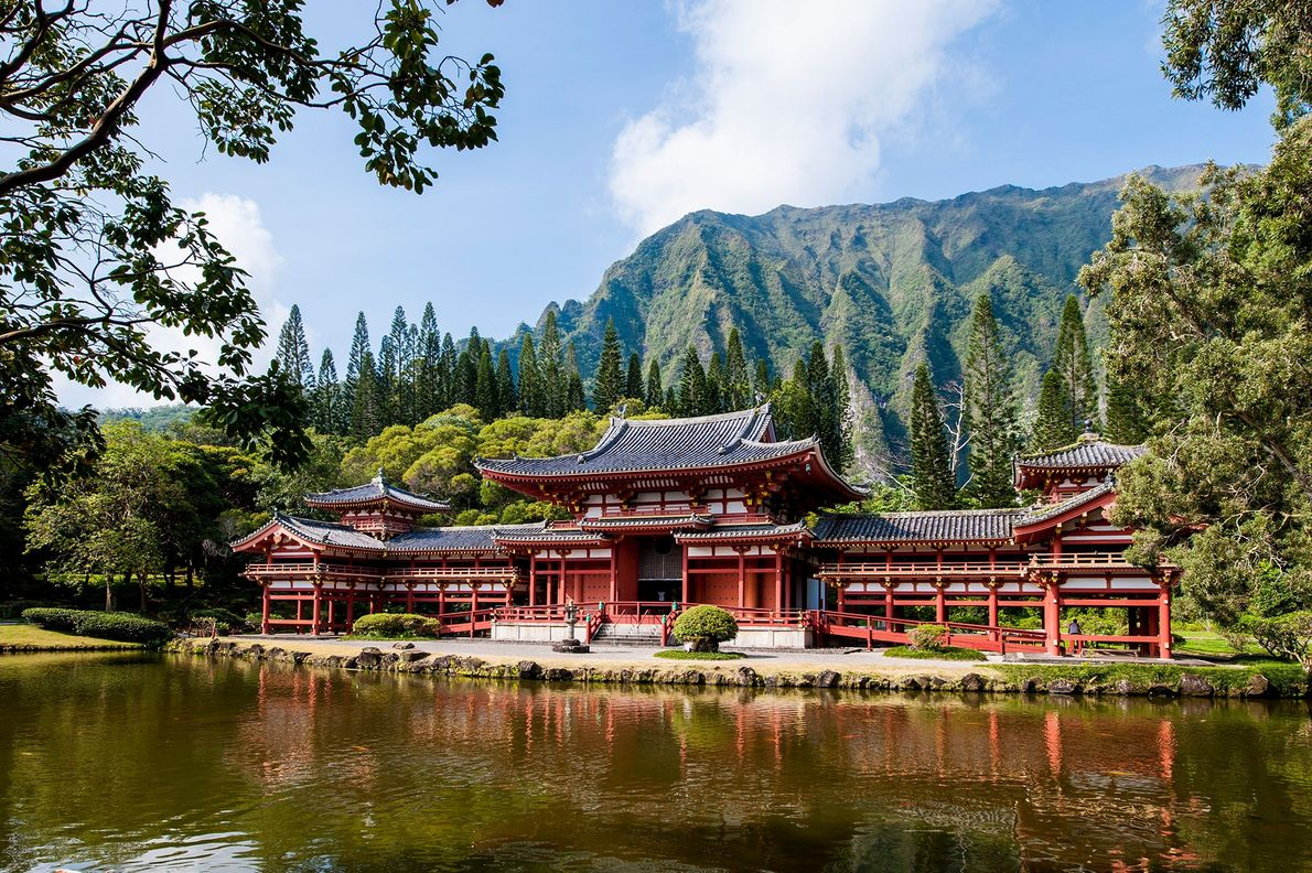 Templo Byodo-In, Hawai