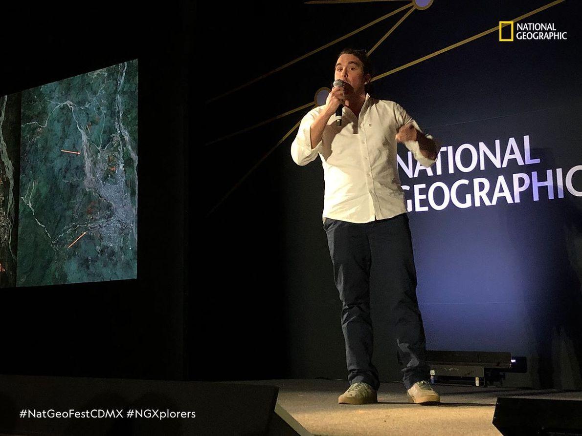 Nicolás Pérez Consuegra (Colombia) Geocientífico.