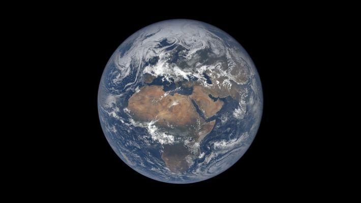 Time-lapse: Cómo se ve un año terrestre desde el espacio