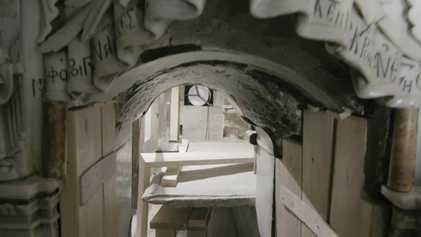 EXCLUSIVO: Observa de cerca el sepulcro sin sellar de Cristo