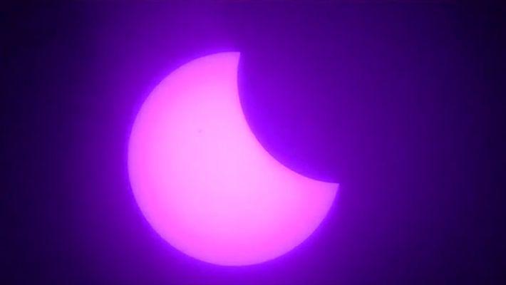 Argentina 2017: Mira un eclipse solar de 3 horas en 1 minuto