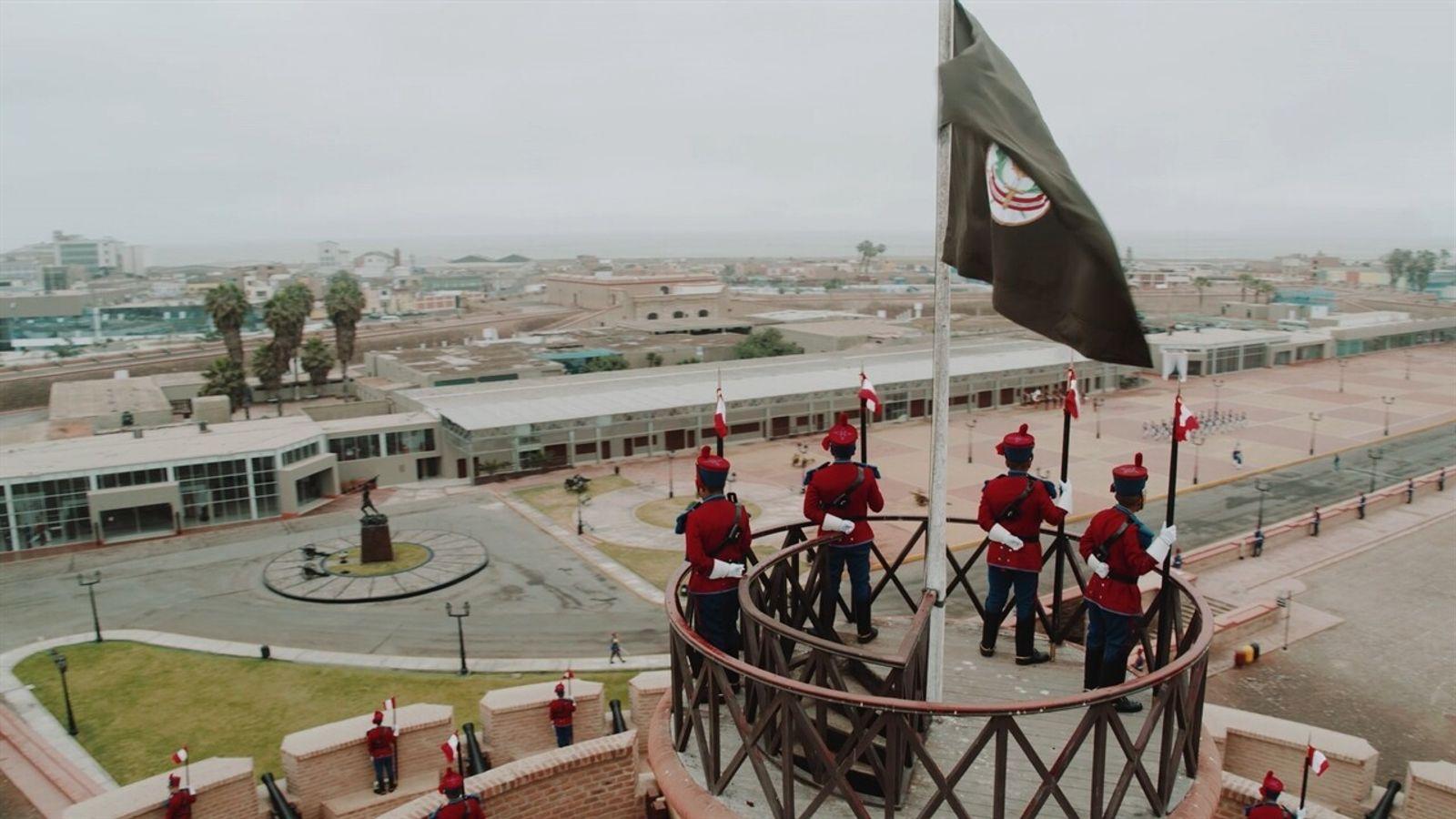 Escenas inéditas: Fortaleza del Real Felipe | Sobrevolando