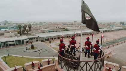 Escenas inéditas: Fortaleza del Real Felipe   Sobrevolando