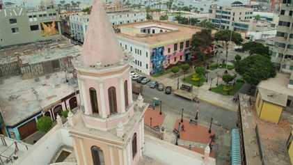 Escenas inéditas: Monumental Callao   Sobrevolando
