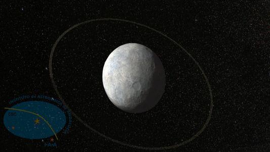 Animación: Anillos encontrados en un mundo extraño cerca de Plutón
