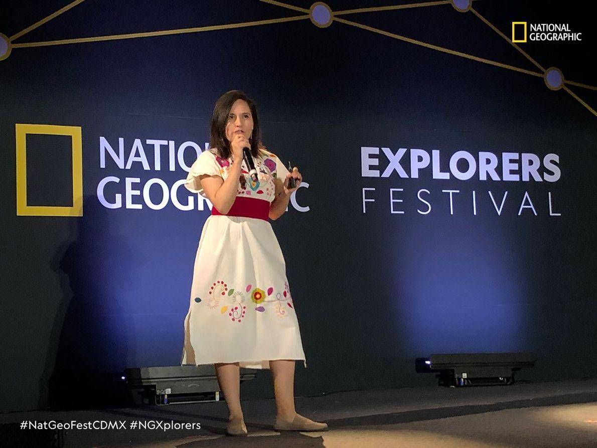 Sara Pineda (México) Bióloga.