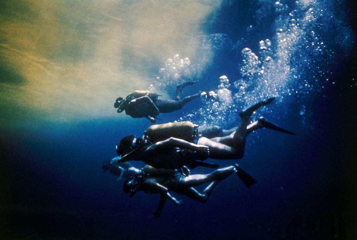 Nadadores del ecuador