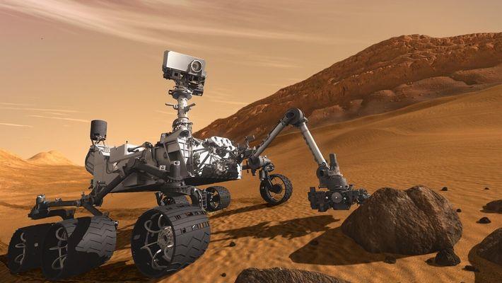 Él construye robots espaciales para ganarse la vida