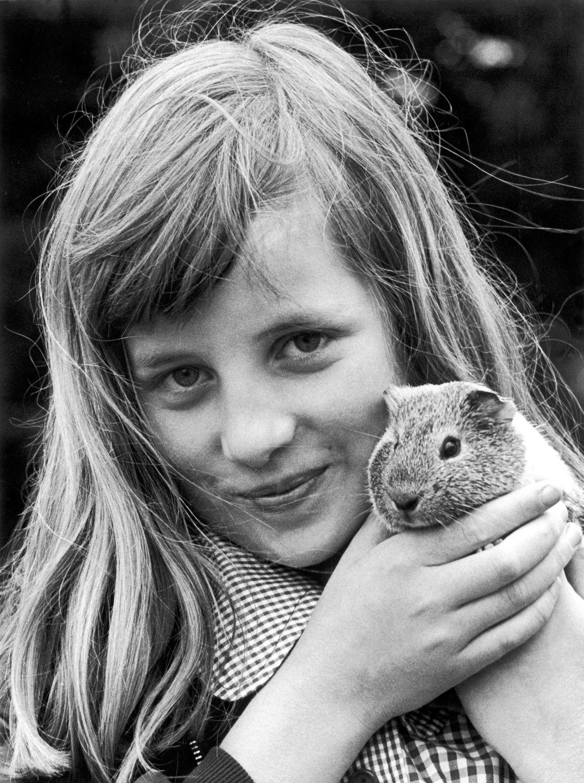 """Diana creció rodeada de perros, gatos, hámsters, conejos y caballos. """"De chica, amaba a los animales"""", ..."""