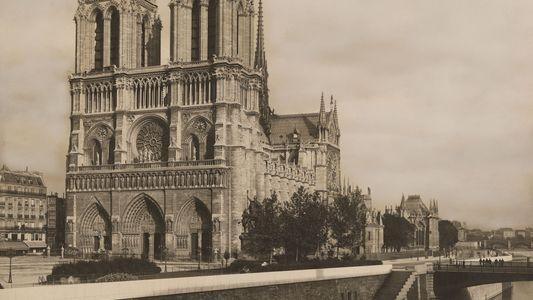 Contempla Notre Dame a través de fotografías de época de nuestro archivo