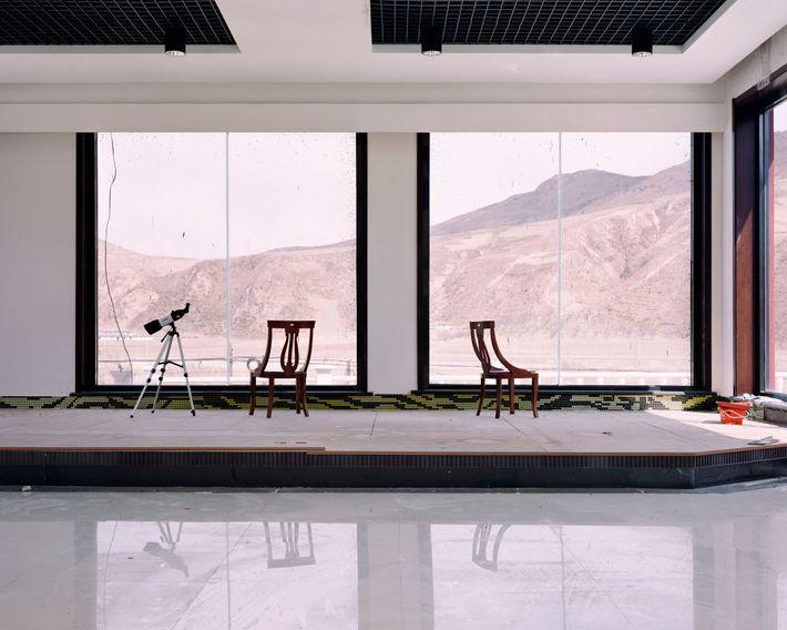 Un hotel en la frontera con Corea del Norte tiene telescopios para observar lo que hay ...