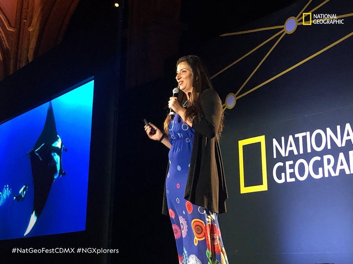 Tania Pelamatti (Italia) Bióloga Marina que trabaja en México.