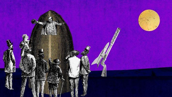 Este cañón lanzó nuestro amor por el espacio