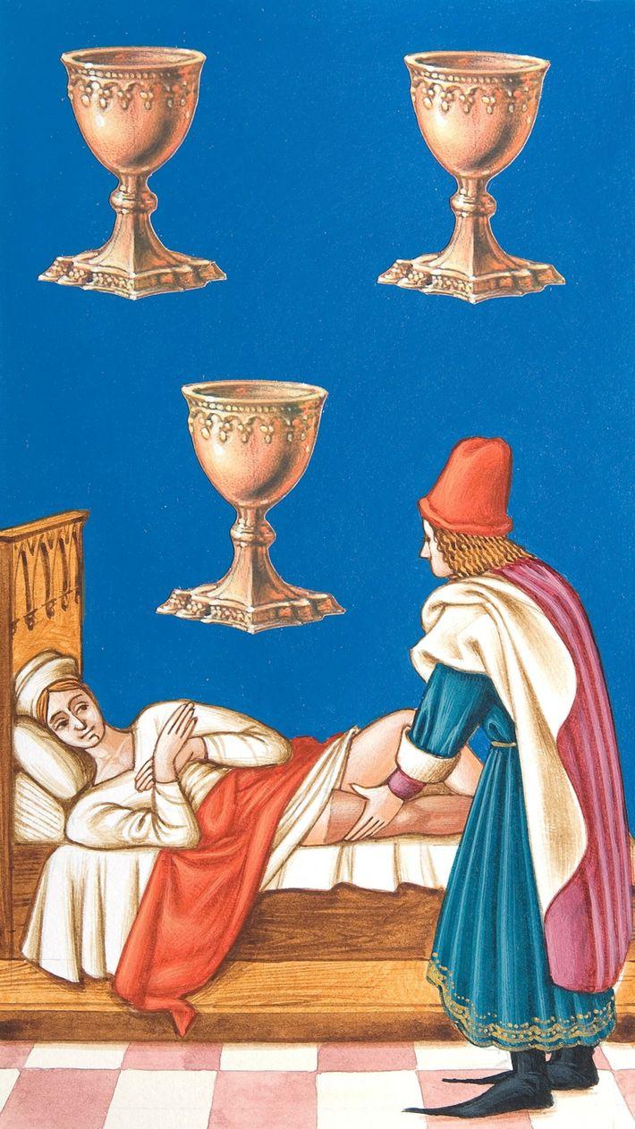 Medieval Medicine- Tarot Card