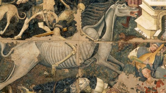 Medieval Cancer- Painting of death