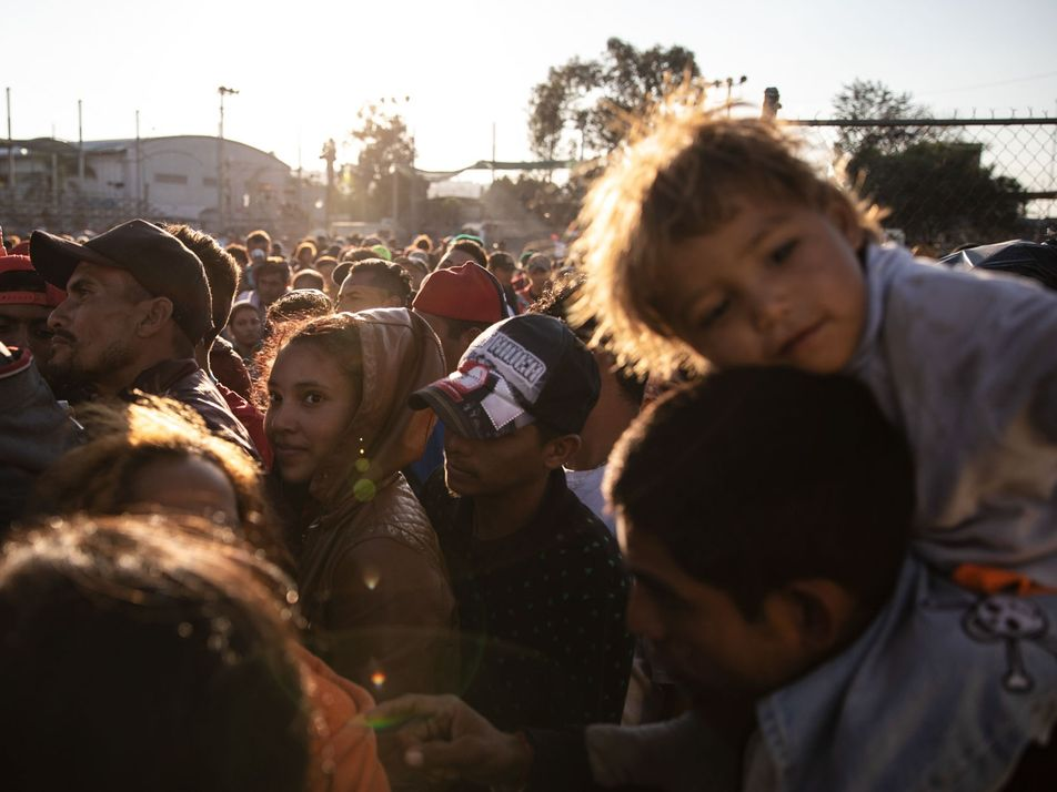 #NGXplorers: imágenes de la caravana migrante por Tomás Ayuso