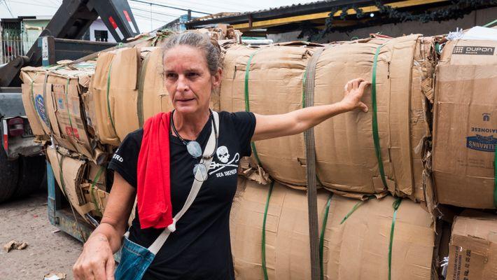 Elisa Muller llegó a Manaos a principios de la década de 2000 para ayudar a implementar ...
