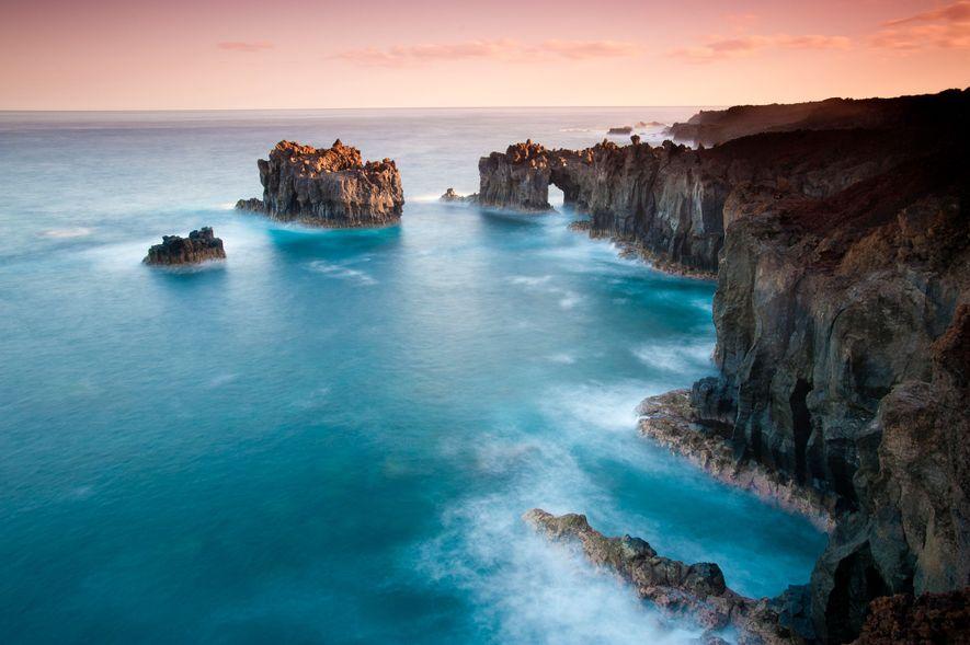 El Hierro, una de las Islas Canarias españolas, alguna vez fue considerado el punto más al ...